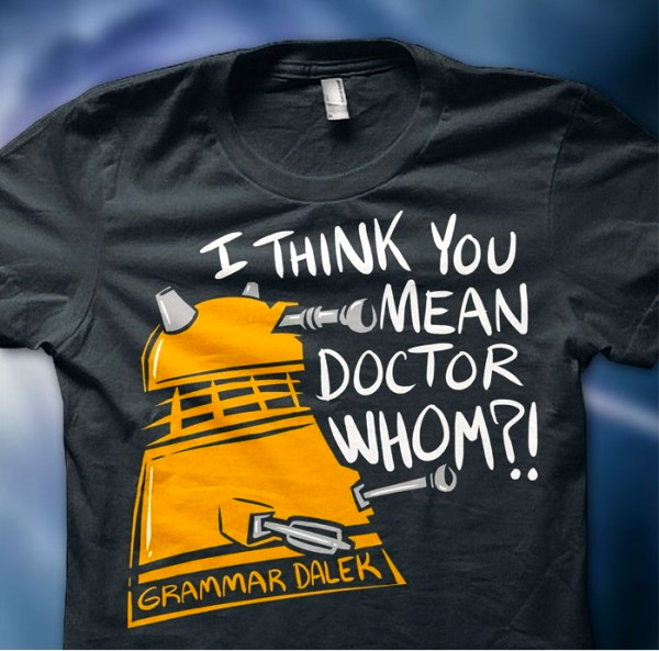 Awesome Doctor Who Dalek T-Shirts