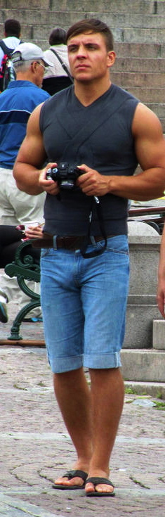 Men Jeans Bulge