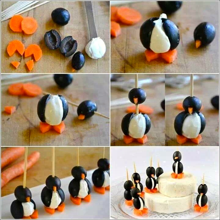 Penguin food
