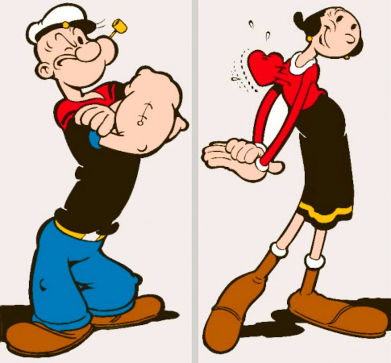 Popeye, Bluto, and Danny Shanahan | Arnold Zwicky's Blog Popeye The Sailor Man And His Wife