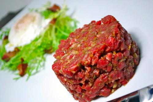 Мясо тартар рецепт с фото