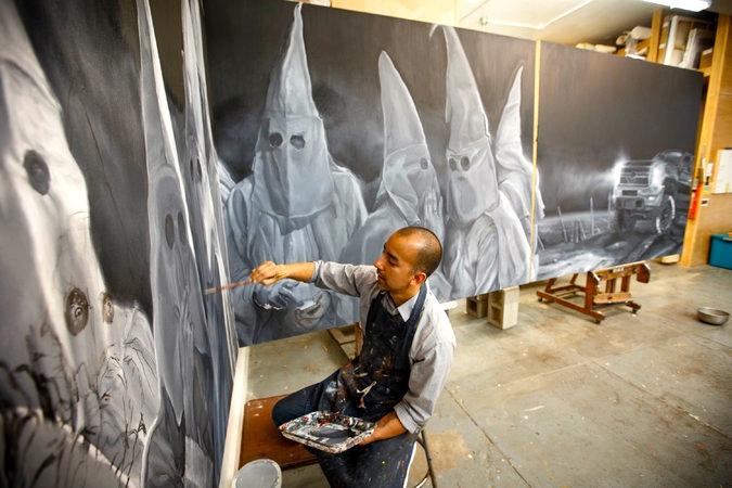 Unnerving Chicano Art Vincent Valdez Arnold Zwicky S Blog