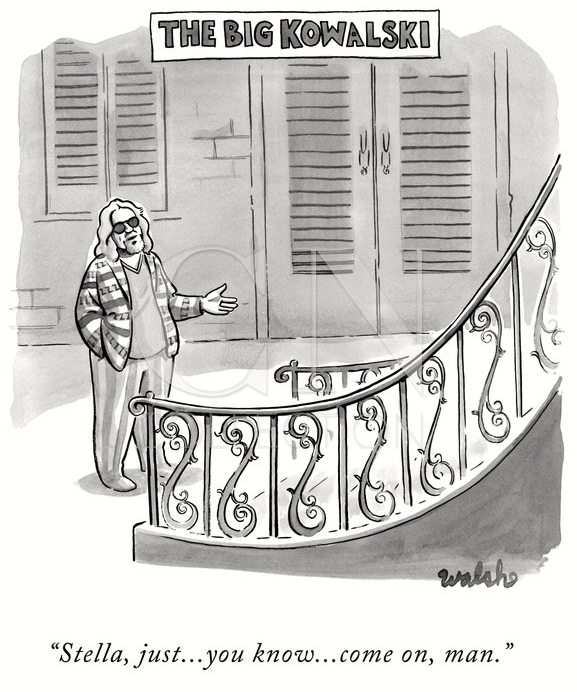 39ef2130a17 A Liam Francis Walsh cartoon in the latest (April 20th) New Yorker
